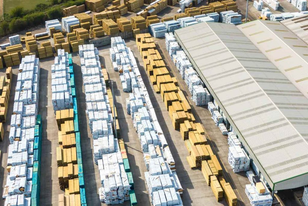 Arbor Forest Products timber yard